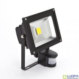 20W Led Floodlight Sensor Premium Reflector Graphite Body Warm White- 3000K
